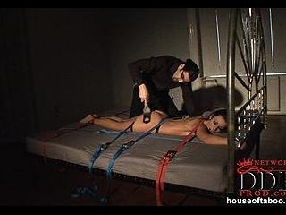 See this bondage spanking action!