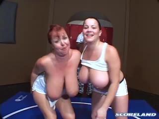 Cherry Brady,  Angela White and  Annie Swanson in