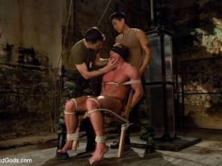 Interrogating Derek Pain - Live Shoot