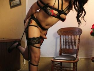 TS Tied up Fantasy; Untie her and She will Own You