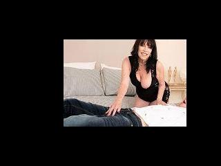Christina fucks her grandson\'s friend