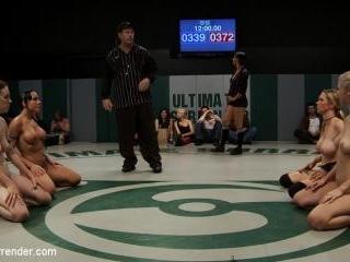 Brutal non-scripted Tag Team WrestlingRd2 of last