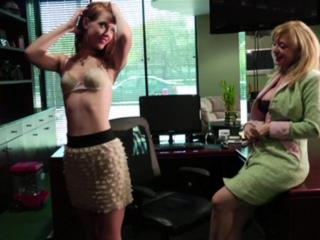 Nina Hartley and  Pepper Kester in