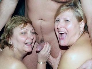 Busty BBW Anna and Yolanda Three-Way Fuck