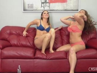 Brunette Babes Hope Howell and Maddy OReilly