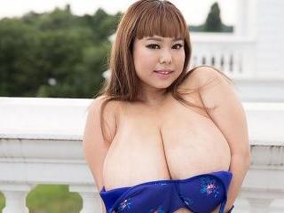 Short \'n\' Stacked Japanese Idol Has Gigantic Tits