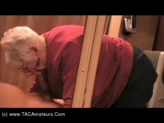 Granny Marge Mirror Fuck Pt2