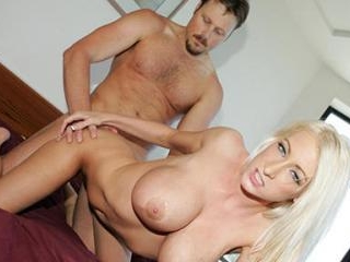 Sexy Blonde With Nice Big Breasts