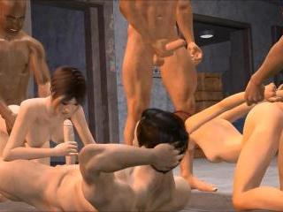 Garagegang - Best 3D hentai porn clips