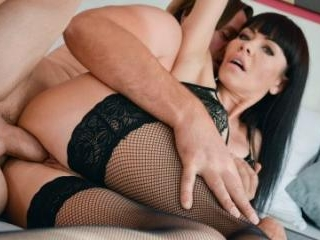 Hot MILF Sex In Stockings And Heels
