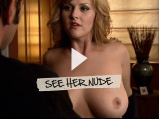 Sara Rue shows off her big and beautiful tits