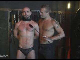 Isaac X Stuffs Riley Landon\'s Hot Meaty Pig Hole R