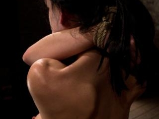 Choke out tieZippered, caned, tortured w/brutal or