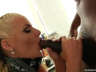 Phoenix Marie gets interracial anal sex from Lex