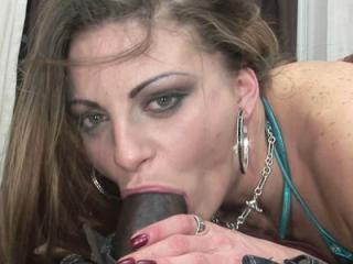 Latina slut Nikki Nievez takes some black dick and