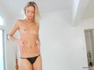 Franziska strips down
