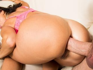 Ava Addams Gets An Anal Creampie Injection From Ma