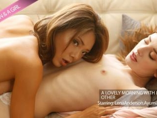 Lena & Ayumi Have A Lovely Morning