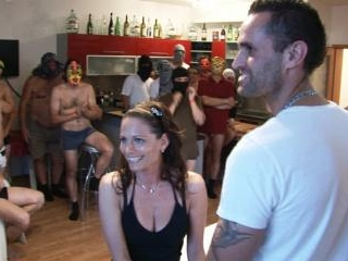 WIFE\'S DREAM COMES TRUE AT CZECH GANG BANG