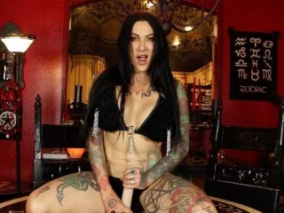 Sexy tattoeed Milf gives you a Jerk Off Instructio