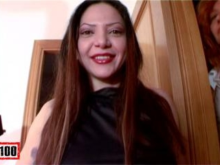 Brazilian bitch sucking and fuckin by her small as