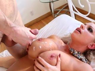 Brooklyn Gets Cum On Her tits