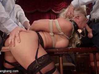 All In: Holly Heart gets TRIPLE PENETRATED by HUGE