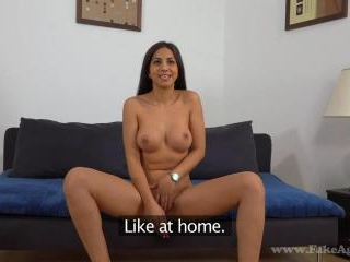 Very Open-Minded Spanish Girl on Casting!