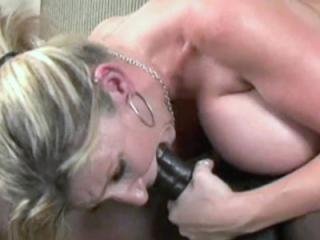 Busty blonde housewife Sara Jay is getting her mat