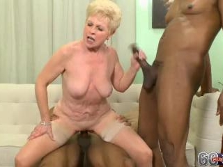 Jewel in Two Black Cocks For The Golden Girl