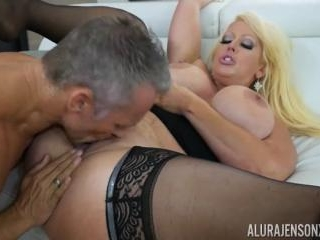 Alura Jenson and Her Huge Tits Takes on Marcus Lon