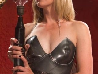 ELECTRO FEMDOM: Mona Wales Electrically Teases and