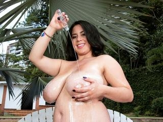 Sofia Santana Bikini-Busting Brunette