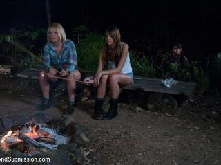 Bonding in Nature: Step Mom and Daughter BDSM Camp