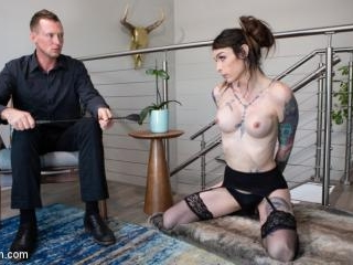 Daddy\'s Little Brat: Chelsea Marie Punished by Pie
