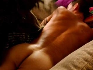 The blanket over Manny Montana\'s butt is pulled up