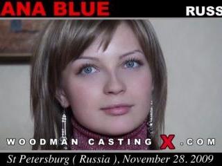 Oxana Blue casting
