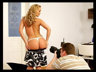 Silvia On A Big Pillow - Behind The Scenes Part 1