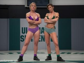 Last years Champion takes on hot blond with huge t