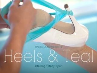 Tiffany Tyler in Heels & Teal