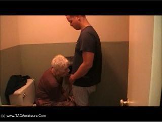 Granny Marg Bathroom Fuck