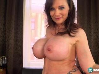 Big tits, big ass, pierced, gaping pussy...nice!