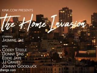 The Home Invasion starring Jasmine Jae - Kink