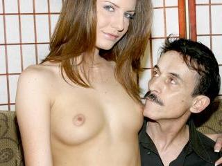 Taylor Mae fulfills an old pervert\'s fantasy