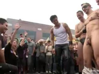 Naked and humiliated in front of thousands of peop
