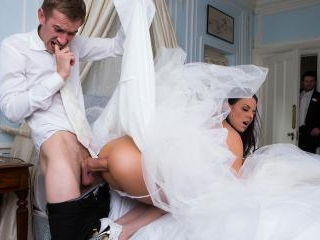 Big Butt Wedding Day