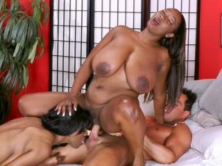 Two Busted Girls On One Cock