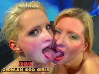 Blondes Swallow Cum - Tour