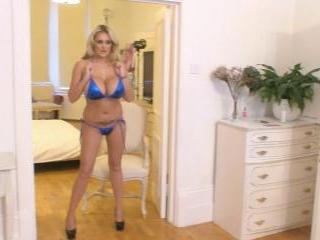 Katie Thornton - Blue Bikini Bombs 1