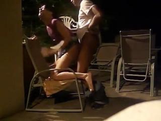 Loud public black couple